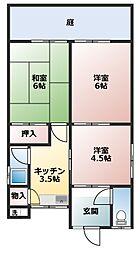 [一戸建] 兵庫県姫路市勝原区山戸 の賃貸【兵庫県 / 姫路市】の間取り
