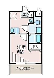 S−FORT玉川学園[1階]の間取り