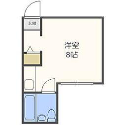 エクセレントハウス414[2階]の間取り