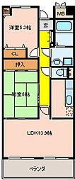 アイレックスプラザ[1階]の間取り