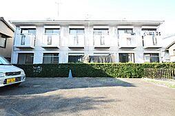 ユタカハイツC棟[1階]の外観