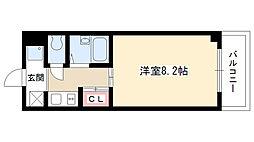 サニーデール[306号室]の間取り