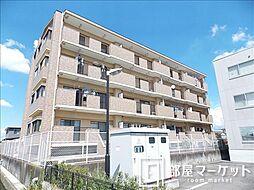 愛知県豊田市下市場町4丁目の賃貸マンションの外観