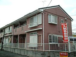 千葉県松戸市串崎新田の賃貸アパートの外観