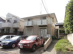 東京都調布市若葉町3の賃貸アパートの外観