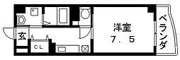 プリムローズ・HY1[501号室号室]の間取り