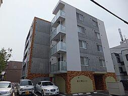 北海道札幌市東区北10条東15丁目の賃貸マンションの外観