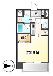 セレステーション[2階]の間取り