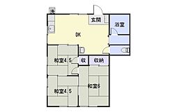 芝口アパート[201号室]の間取り