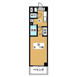 プラネシア星の子京都駅前[2階]の間取り