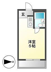 アーバンポイント富士見[4階]の間取り