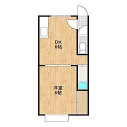 カレッジハウス66[2階]の間取り