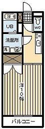 ハイツビフラン[103号室]の間取り