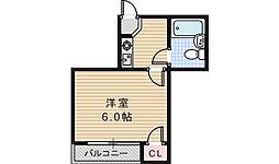 EST山坂[2階]の間取り