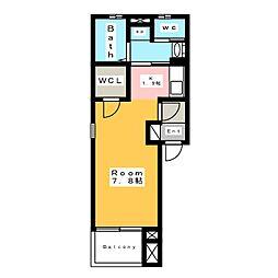 ココハウス[2階]の間取り