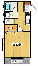 プチハイツ[2階]の間取り
