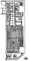 ファーストステージ東梅田[6階]の間取り
