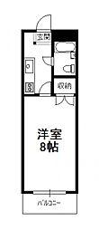 コスタ吉村(1K)[106号号室]の間取り
