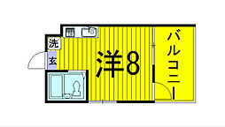 Ric NODA[2階]の間取り
