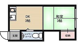 マルゴマンション[2階]の間取り