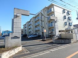 埼玉県鶴ヶ島市大字藤金の賃貸マンションの外観