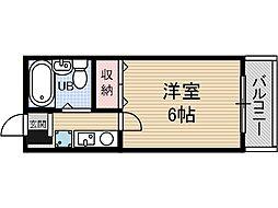 元町壱番館[5階]の間取り