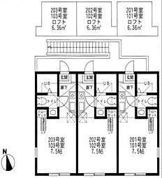 ハーミットクラブハウス戸塚B棟[1階]の間取り