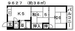 高橋マンション[207号室号室]の間取り