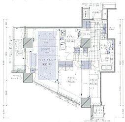 品川タワーレジデンス[11階]の間取り