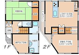 [一戸建] 東京都世田谷区梅丘2丁目 の賃貸【東京都 / 世田谷区】の間取り