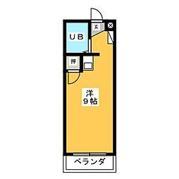 マンション日吉多加木[3階]の間取り