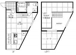 神奈川県逗子市久木4丁目の賃貸アパートの間取り