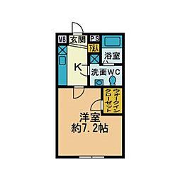 厚木台ファミールI[3階]の間取り