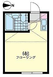ユナイトステージ殿町 弐番館[1階]の間取り