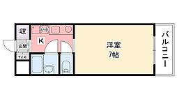 ハイムTAKA[402号室]の間取り