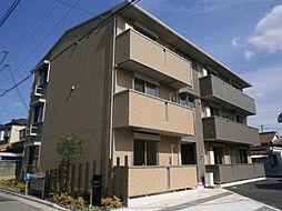 大阪府堺市堺区出島町4丁の賃貸アパートの外観