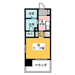 ラ シェンテ丸の内[9階]の間取り