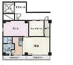 佐藤ビル 4階1SLDKの間取り