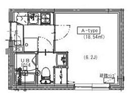 MidCUBE[2階]の間取り