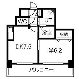 ahika37[6階]の間取り