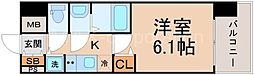 ララプレイス大阪ザ・リヴァージュ[7階]の間取り