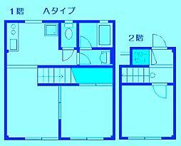 コーポYUTAKA[2階]の間取り