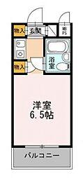 エトワール子安町[4階]の間取り