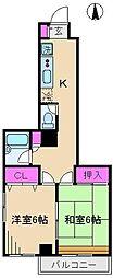 ハイマートIG[2階]の間取り