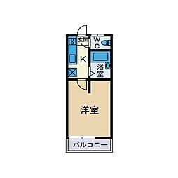 ドルチェ真田[2階]の間取り