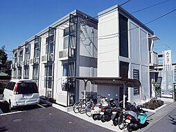 埼玉県川口市八幡木2丁目の賃貸アパートの外観