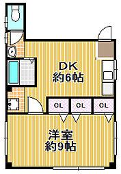 福井ビル[3階]の間取り