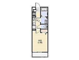 リブリ・セレッサ2[3階]の間取り