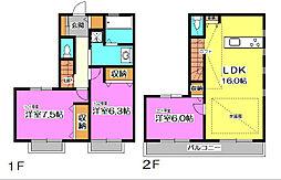 Familiar House (ファミリアハウス)[2階]の間取り