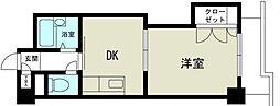 新大阪グランドハイツ北[10階]の間取り